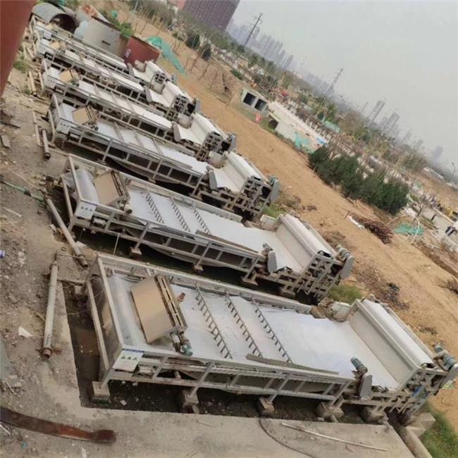广东佛山500平方隔膜压滤机洗砂污水脱水机