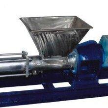 G型不锈钢料斗式螺杆泵_喂料泵图片