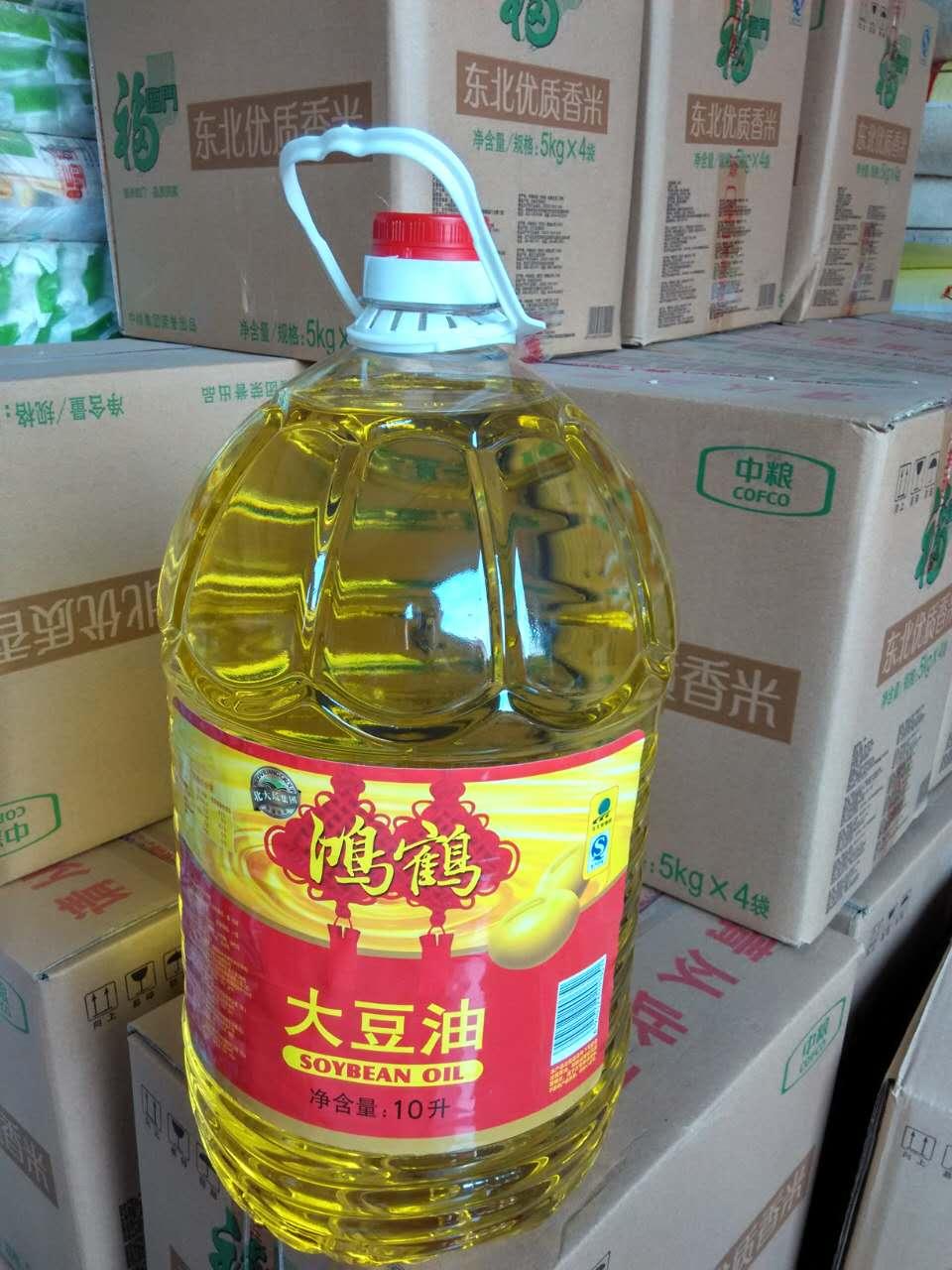 哈尔滨鸿鹤豆油批发商为药厂,饭店,食堂供应优质食用油