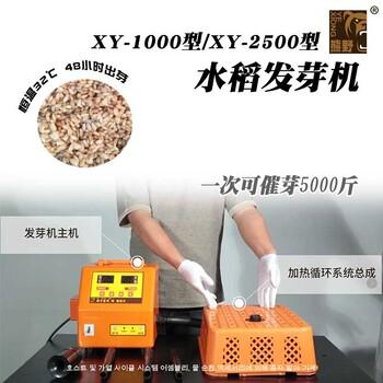 供應韓式XY1000型水稻種子發芽機起苗機出芽均勻整齊速度快廠家