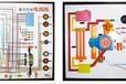 解放CA1121\1122\1141程控电教板,北京紫光基业汽车教学设备
