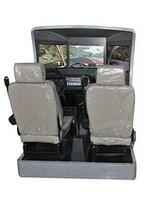 三屏双人座型汽车驾驶模拟器,驾驶模拟器参数确定