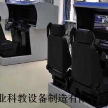 2017热销,三屏驾驶模拟器,动感汽车机动车模拟训练机