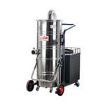 金属制品打磨吸尘器吸金属粉尘铁屑吸尘机移动式100L吸尘器