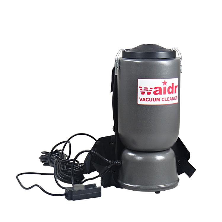 上海物业环卫用电瓶吸尘器WD-6L吸灰尘烟头用锂电子吸尘机