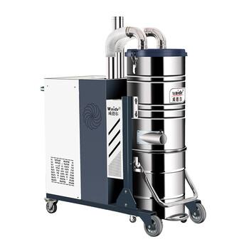 三相电智能反吹吸尘器威德尔C007AI吸砂石工业吸尘机