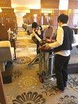 酒店客房清理吸塵器吸地毯灰塵吸塵器移動式220V吸塵機