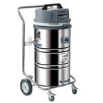 金属制品车间吸尘器吸金属碎屑粉尘吸尘机移动手动反吹吸尘机