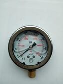 供应10-400kg油压表/台湾IMT液压机械压力表防腐耐酸不锈钢耐震