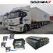 3G車載視頻監控SD卡錄像機車載監控系統GPS自動報站器智能交通一體機