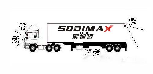 货车4G视频监控_物流车北斗GPS定位_4G车载录像机厂家