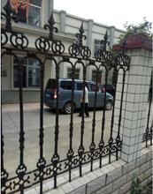 河北铸铁栏杆批发石家庄铝艺护栏销售行唐热镀锌护栏厂图片