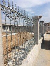 河北铸铁护栏石家庄庭院护栏开发区庭院大门小区别墅护栏图片