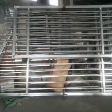 古治拼装锌钢护栏唐山组装热镀锌护栏河北锌钢大门价格图片