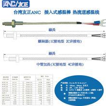 友正ANC插入式螺丝头热电偶TCK1CPT100热电阻图片