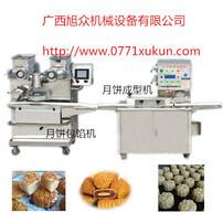 柳州莲蓉月饼机,月饼自动包馅机,豆蓉月饼机,冬瓜蓉月饼机设备图片