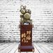 财福临门大葫芦金蟾树脂木雕刻落地工艺摆件开业促销定制批发