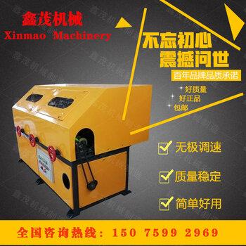 新型方管除銹拋光機環保除塵圓管外圓拋光機角鐵除銹機