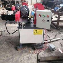 不锈钢圆管抛光机天然气管道除锈机外圆除锈抛光机图片