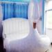 廠家直銷熱賣天鵝戀主題童話風格造型電動床水床主題酒店桑拿專用