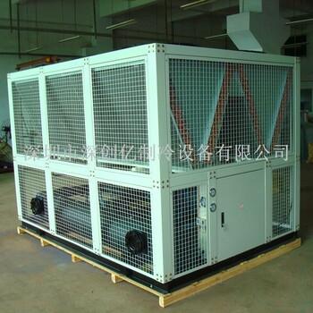 电镀专用新疆制冷机现货直供400HP风冷螺杆式冷水机