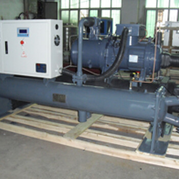 注塑專用綏化冷水機長期供應100HP水冷螺桿式冷水機