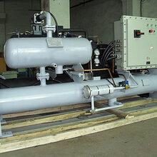 注塑专用辽宁冻水机现货直供50HP防爆型工业冷水机