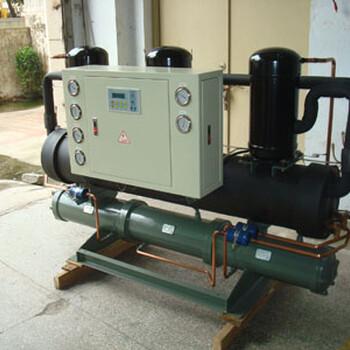 火爆熱銷廣西鑄造業專用乙二醇工業制冷機40HP開放式冷水機組