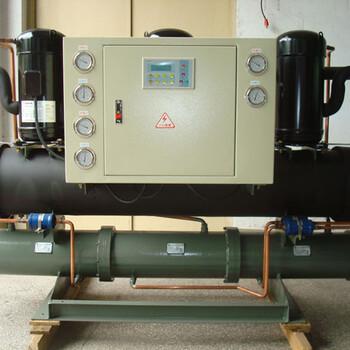 化工厂专用湘潭冻水机出厂低价30HP水冷开放式冷水机