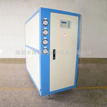 昭通制冷機現貨直供6HP水冷箱式冷水機