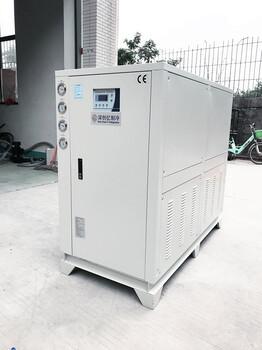 化工厂专用北京冷冻机现货直供3HP水冷箱式冷水机