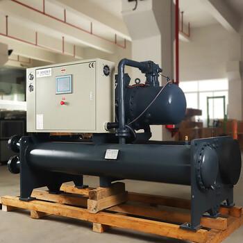 食品厂专用四平制冷机现货直供50HP防爆型工业冷水机