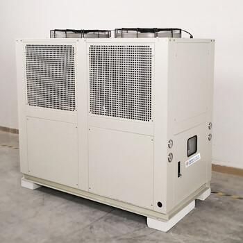 制藥廠專用黔東南冷凍機出廠低價20HP風冷箱式冷水機