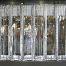 北京皮革棉门帘定做帆布棉门帘批发安装商场酒店图片