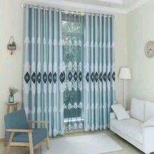 通州电动窗帘定做家用窗帘阳台纱帘咖啡厅窗帘办公室窗帘定做图片
