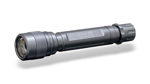 日本原装进口GENTOS高功率锂电池强光LED手电筒AP-100BK/AP-100SV/AP-100RD