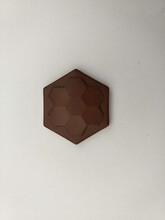 六角锗石片陶瓷能量片图片
