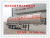 喀什市4799立方米CLQ9400GYYA型铝合金运油半挂车轻量化镁铝合金半挂车