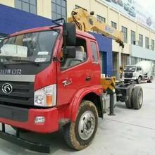 大连市福田牌BJ5122JSQ-G1国四6.3吨随车起重运输车随车吊港口专用图片