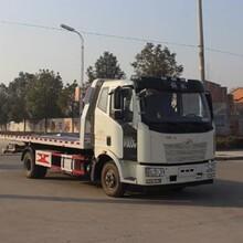 新疆石河子国五解放一拖二清障车多少钱?高速路拖车急需一拖二清障车图片