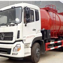 潍坊东风天龙国五康机270马力污泥自卸车楚胜厂家专业生产图片
