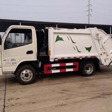 安徽巢湖凯马国五4方压缩式垃圾车价格介绍,买压缩式垃圾车找厂家图片