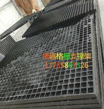 环保脱硫塔支撑件耐温100度树脂网格板玻璃钢38格栅河北华强图片