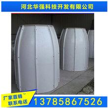 小区埋地FRP增强塑料排水井拼装式模压检查井SMC玻璃钢材质图片