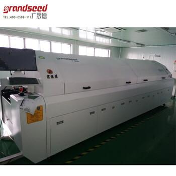 现货供应大型全自动热风回流焊GSD-L8