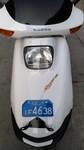 本田水冷大白鲨125摩托车原版补漆实表5千公里图片