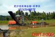 砂金船河道淘金设备锡林郭勒河床砂石挖掘链斗式挖沙选金船