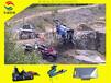 淘金机械淘金机械厂家新疆旱地淘金移动淘金车