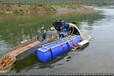 潜水式小型淘金船石河子偏远地区大型设备难于开采河段虹吸式抽沙选金机厂家