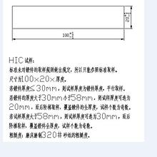 Q245R(HIC)HIC试验报告图片